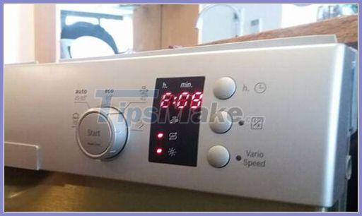 Hình ảnh 1 trong 7 mã lỗi thường gặp trên máy rửa bát Bosch và cách khắc phục