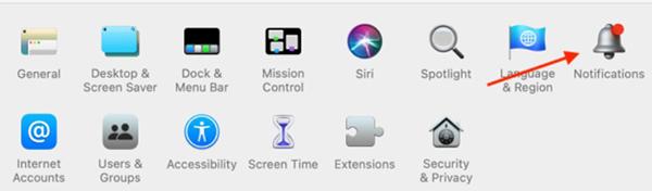 Hình 5 về Cách tắt thông báo ứng dụng nhanh trên Mac