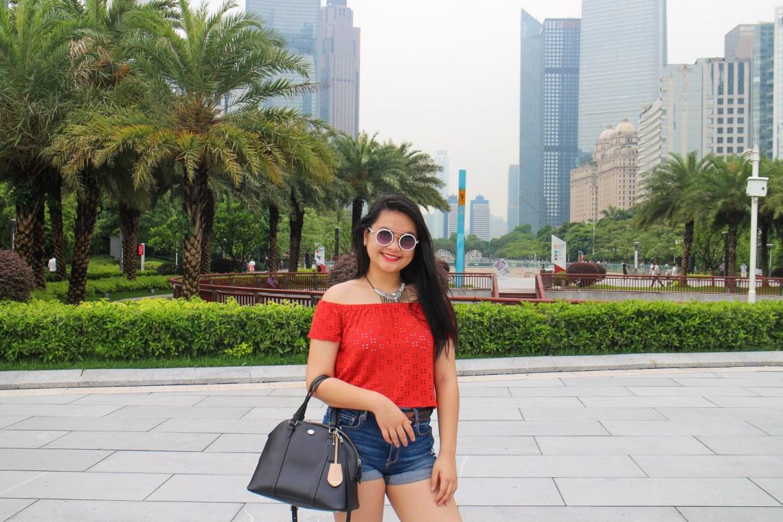 zhujiang new town guanzhou travel