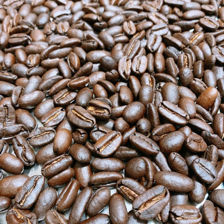 マンデリン ワハナ ロングベリー コーヒー豆の写真