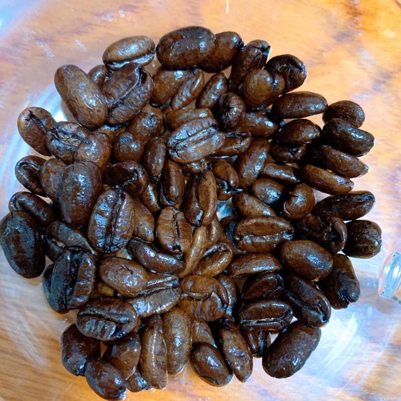 マンデリンG1 コーヒー豆の写真