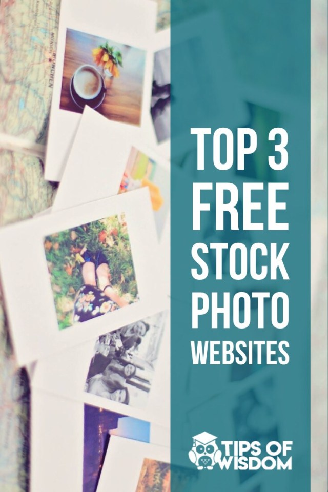 top 3 free stock photo websites for marketing professionals on a