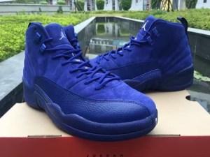 """Air Jordan 12 """"Blue Suede"""""""