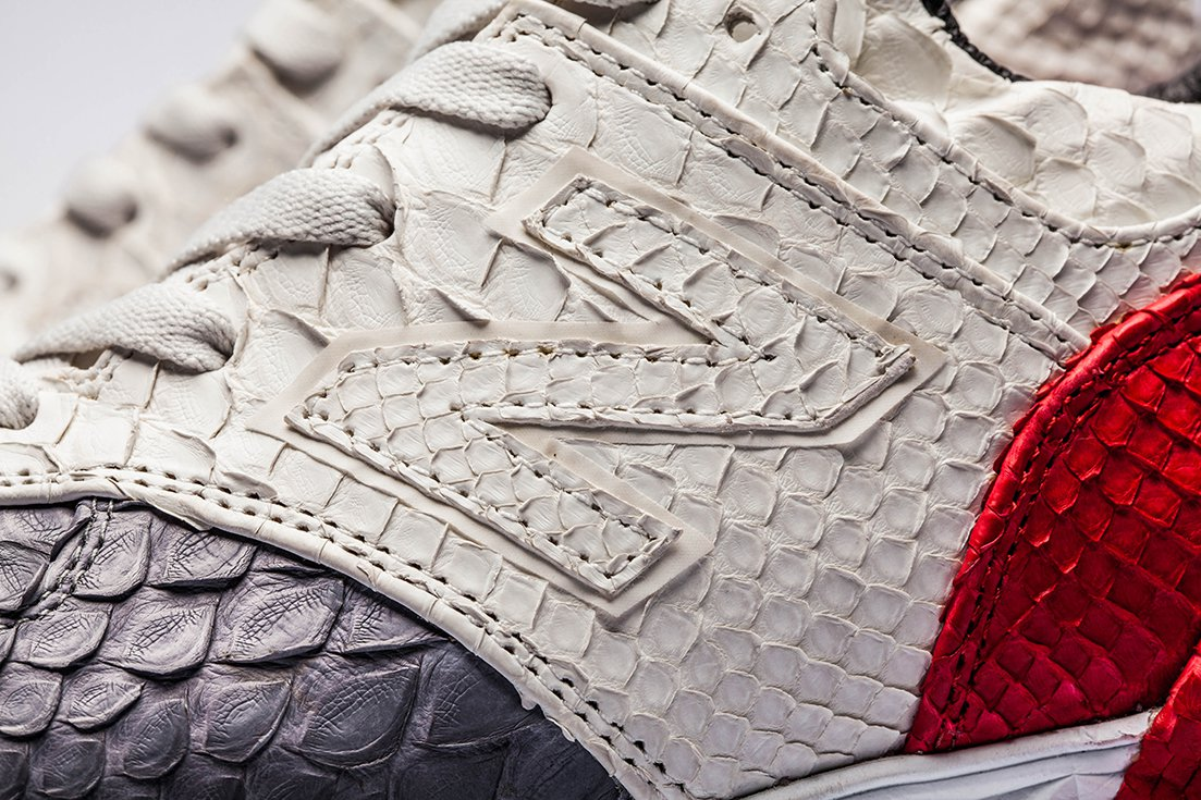 A Closer Look: The Shoe Surgeon's Custom Python Leather New