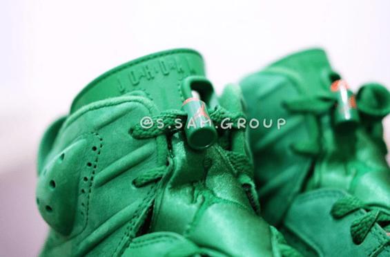 Our Best Look Yet At The Air Jordan 6 Gatorade Green – TIP SOLVER e01eac8de