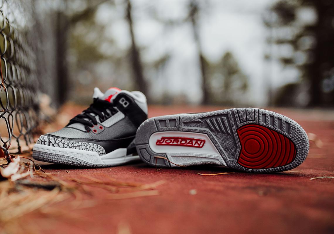 separation shoes cf8cf d6d93 Air Jordan 3 Black Cement – Full Sizing + Price Info – TIP ...