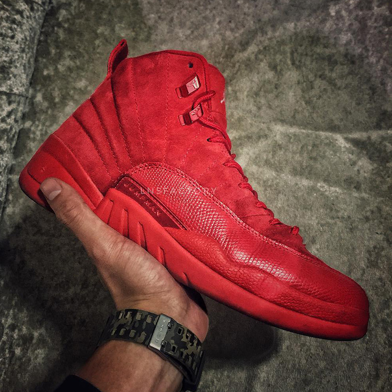 "buy online e4b45 b7fea Speculation: The Air Jordan 12 May Release In A ""Red October ..."