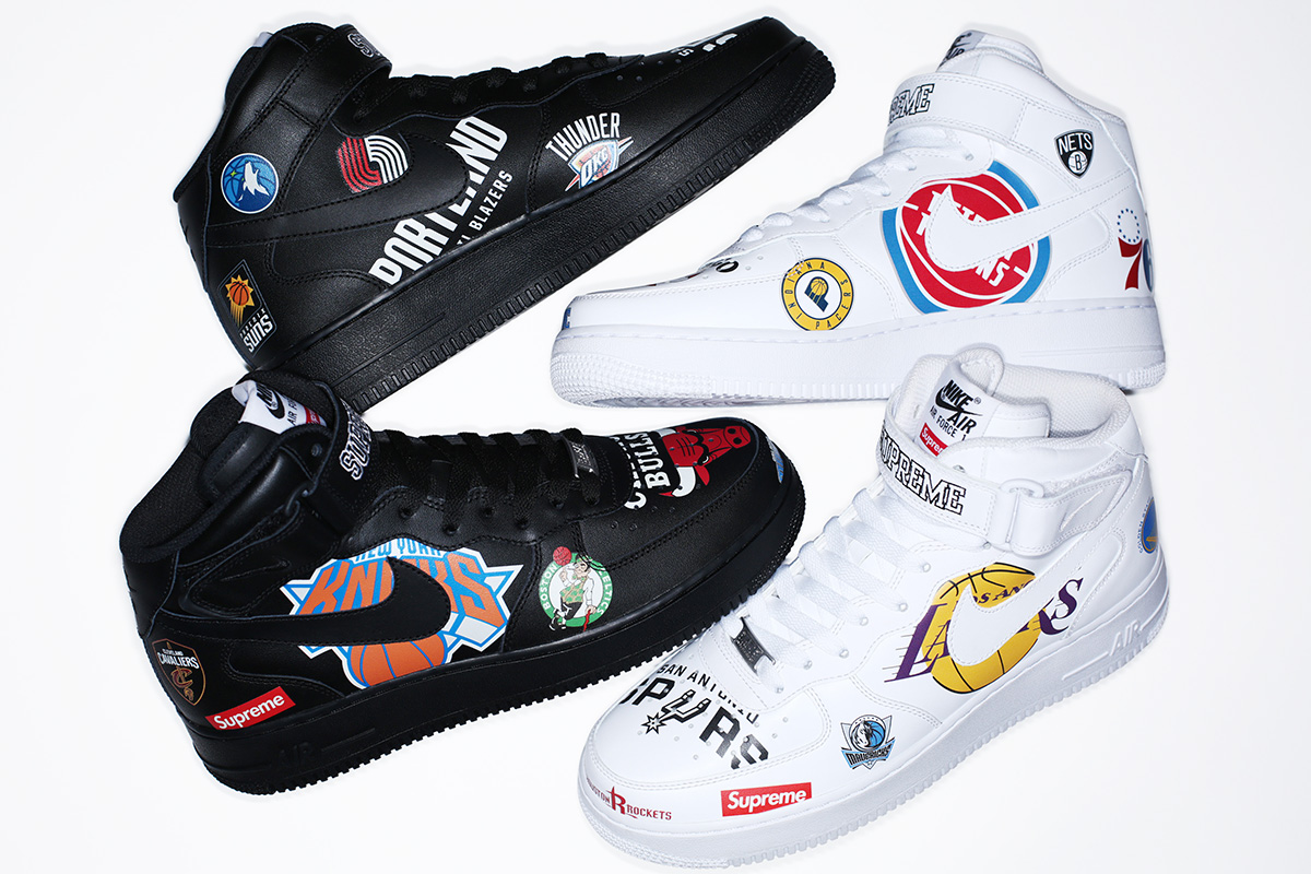 Supreme continues its exciting partnership with Nike and NBA with its most  extensive footwear apparel collection to date. With a design concept that  ... edbf226dc