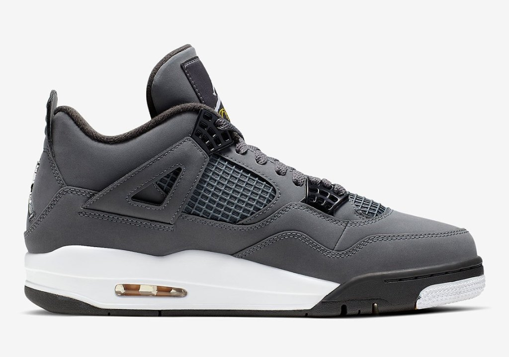 """Official pictures of the Air Jordan 4 """"Cool Grey"""""""