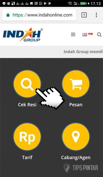 Indah Cargo Resi : indah, cargo, Nomor, Indah, Cargo, Hanya, Lewat, Smartphone