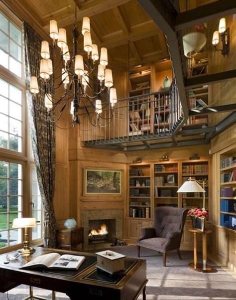 desain perpustakaan  Rumah Minimalis
