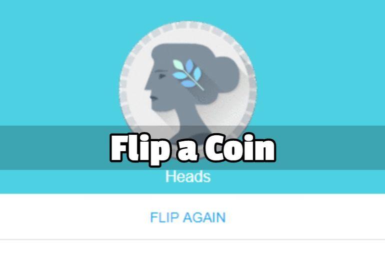 google flip a coin