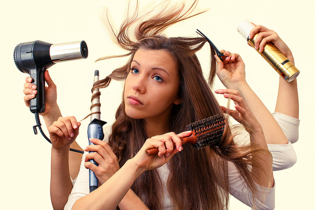 10 bad habits that damage your hair - Tips to Care : Health and ...