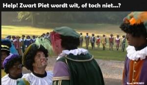 Help! Zwarte Piet wordt wit, of toch niet…?