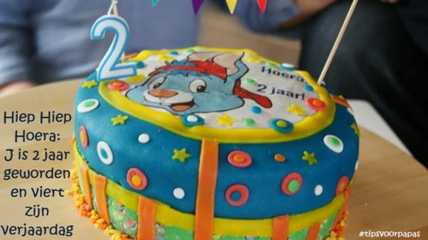 taart verjaardag Bobo