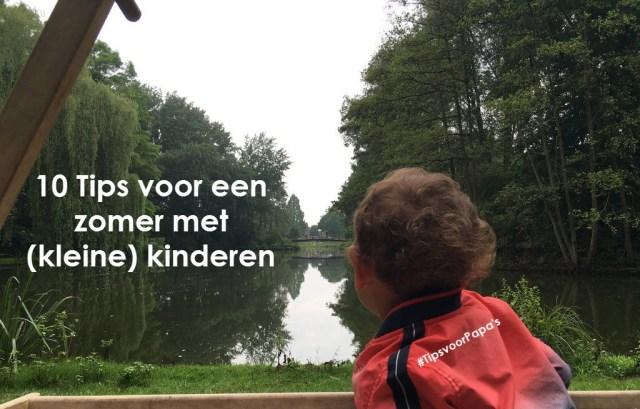 tips zomer kinderen buiten binnen zon regen