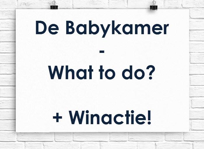 babykamer winactie poster