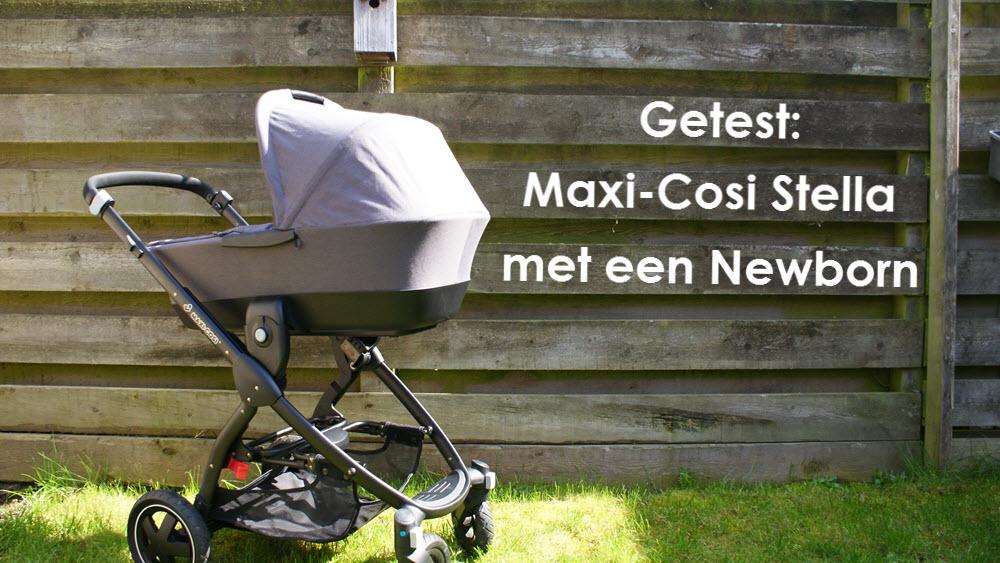 Maxi-Cosi Stella kinderwagen test review reiswieg cabriofix