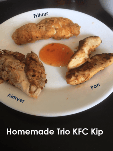 Homemade Trio KFC kip