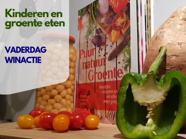 Kinderen groente eten winactie vaderdag