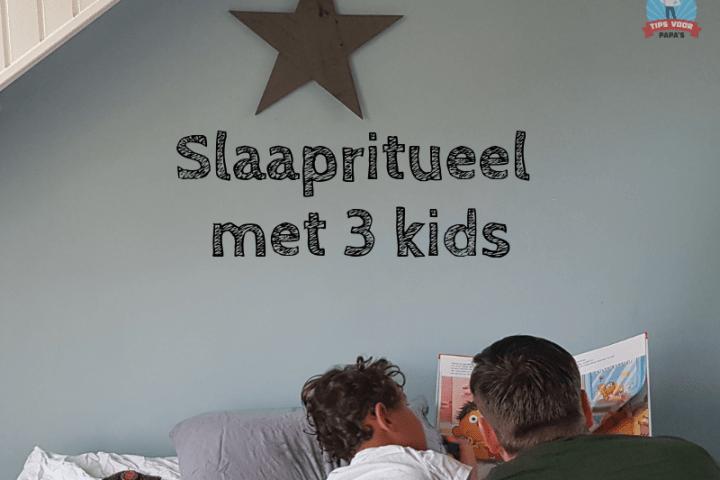 Slaapritueel met 3 kids