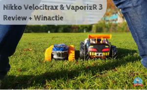 Nikko Velocitrax & VaporizR 3 – Review + Winactie – GESLOTEN