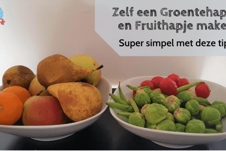 Zelf een Groentehapje en Fruithapje maken: super simpel met deze tips