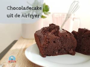 Airfryer Adventures: Chocoladecake uit de Airfryer met hulp van de kids