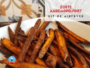 Airfryer Adventures – Zoete Aardappelfriet