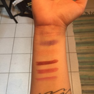july bbb warm light swatches