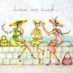 coloured ladies lunching