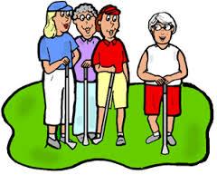 E35 lady golfers