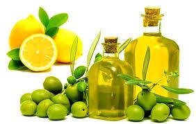 oil and lemopn jiuce