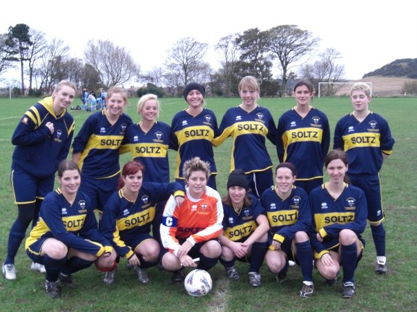 University of Hull Scarborough Campus Ladies Football Team.