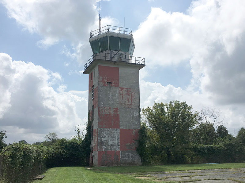 Tipton Airport's old Army tower