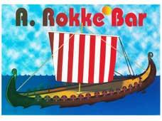 A. Rokke Bar Sign