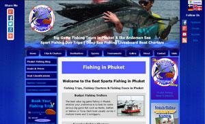 Fishing in Phuket Index Page