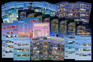 Brochure & menu design