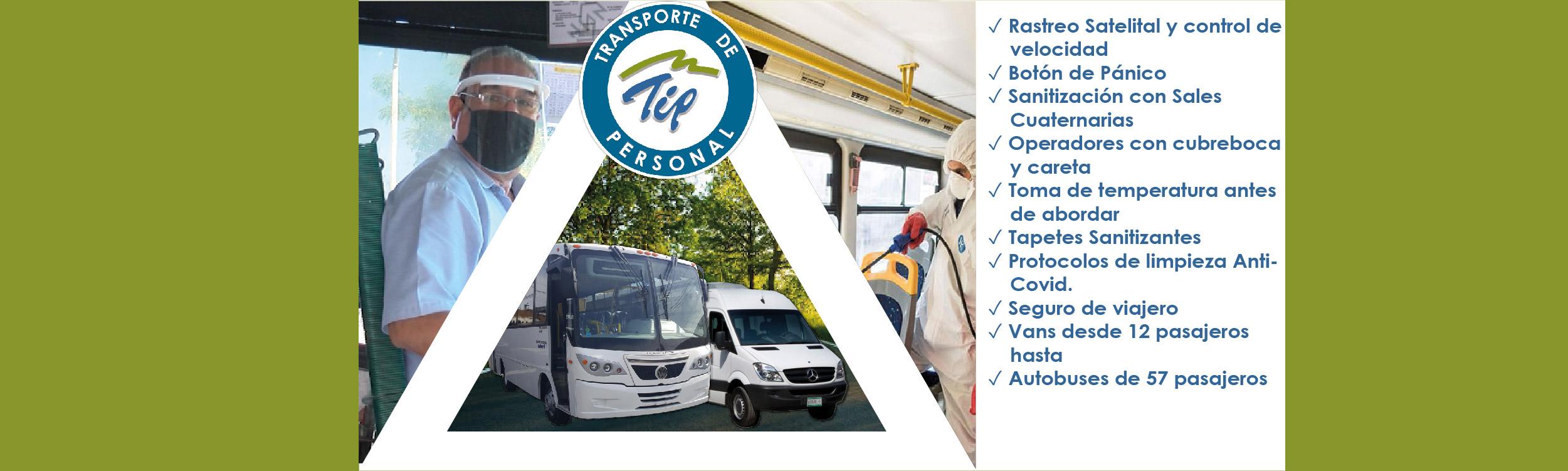 3 Razones de Peso para contratar Transporte de Personal