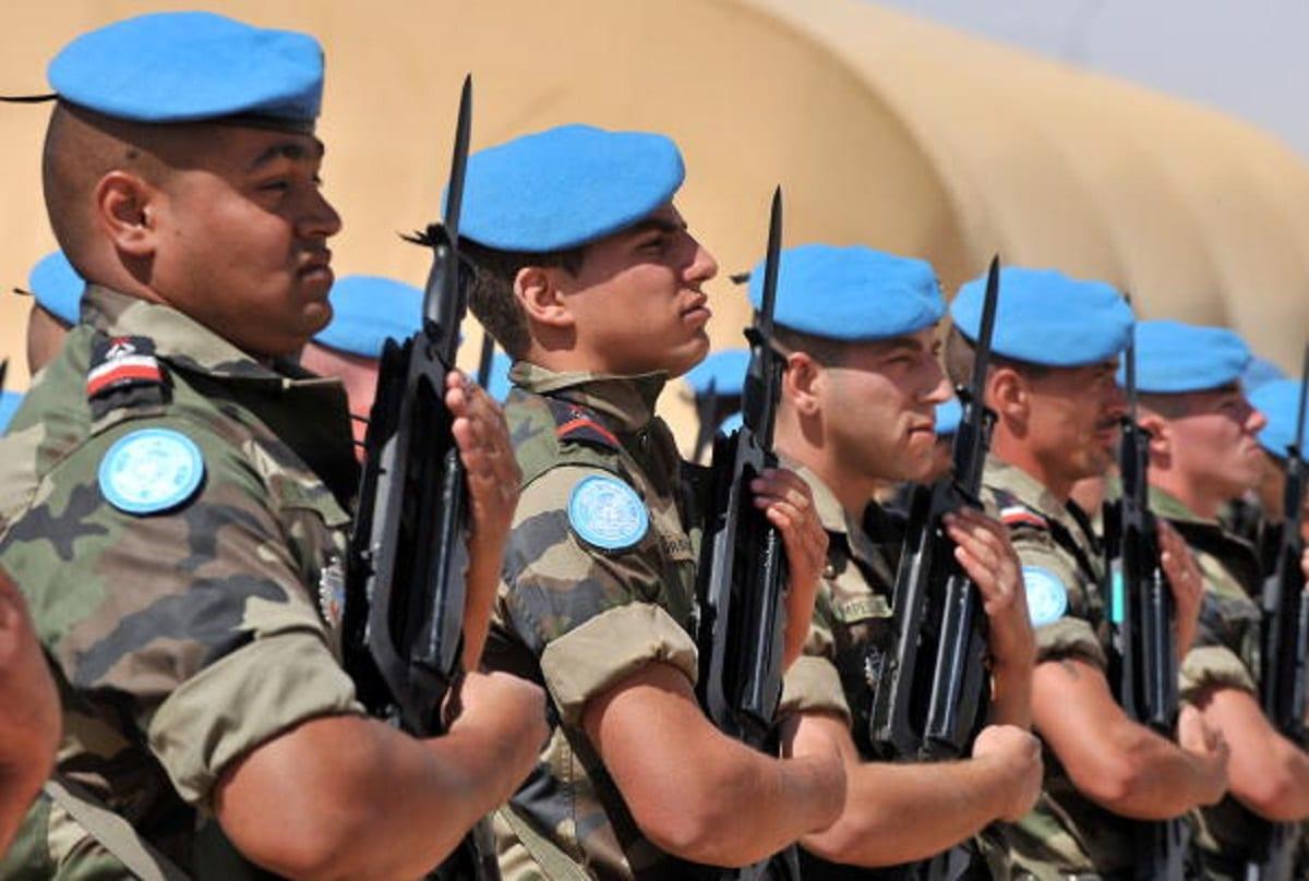 قوات الأمم المتحدة ونهب الثروات