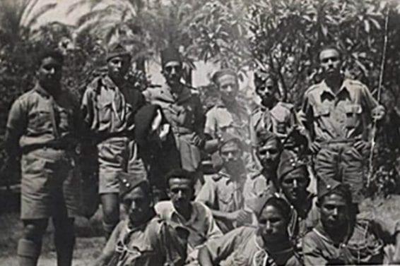 جنود من الإخوان أثناء الجهاد الفلسطيني
