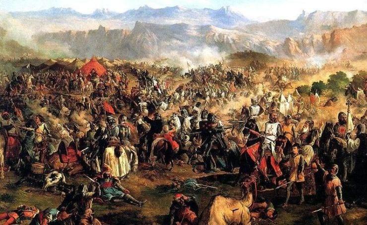 حروب الاسترداد - معركة العُقاب - الأندلس