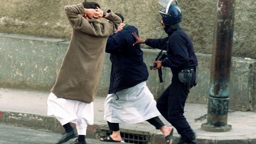 الاعتقالات التعسفية في الجزائر
