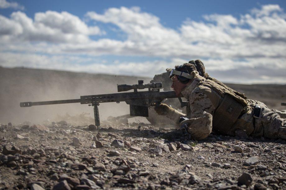 Cazadores de pistoleros (M107 Barrett .50 BMG)
