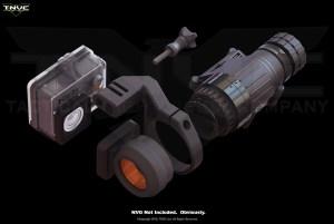 Adaptador NVG para cámaras GoPro HERO