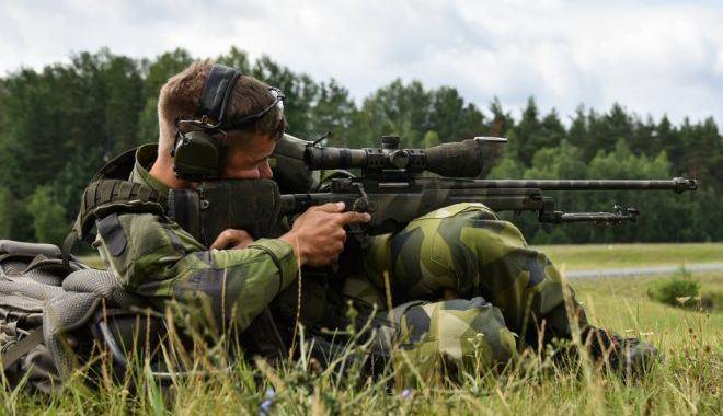 El equipo Sueco en la mejor competición de francotiradores 2019