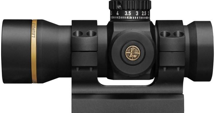 Resistente, preciso y fácil de usar: el nuevo Freedom RDS de Leupold (Red Dot Sight)