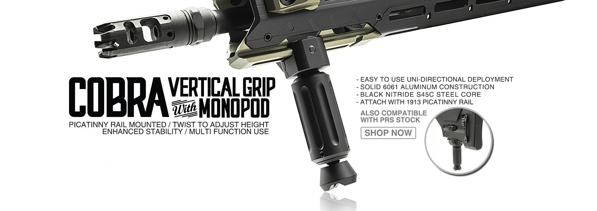 Strike Industries COBRA Vertical Foregrip / Monopod