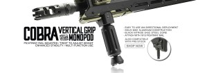 Strike Industries COBRA Vertical Foregrip / Monopod