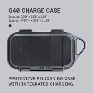 Estuche Pelican GO G40 con cargador portátil de 10000 mAh y carga inalámbrica Qi